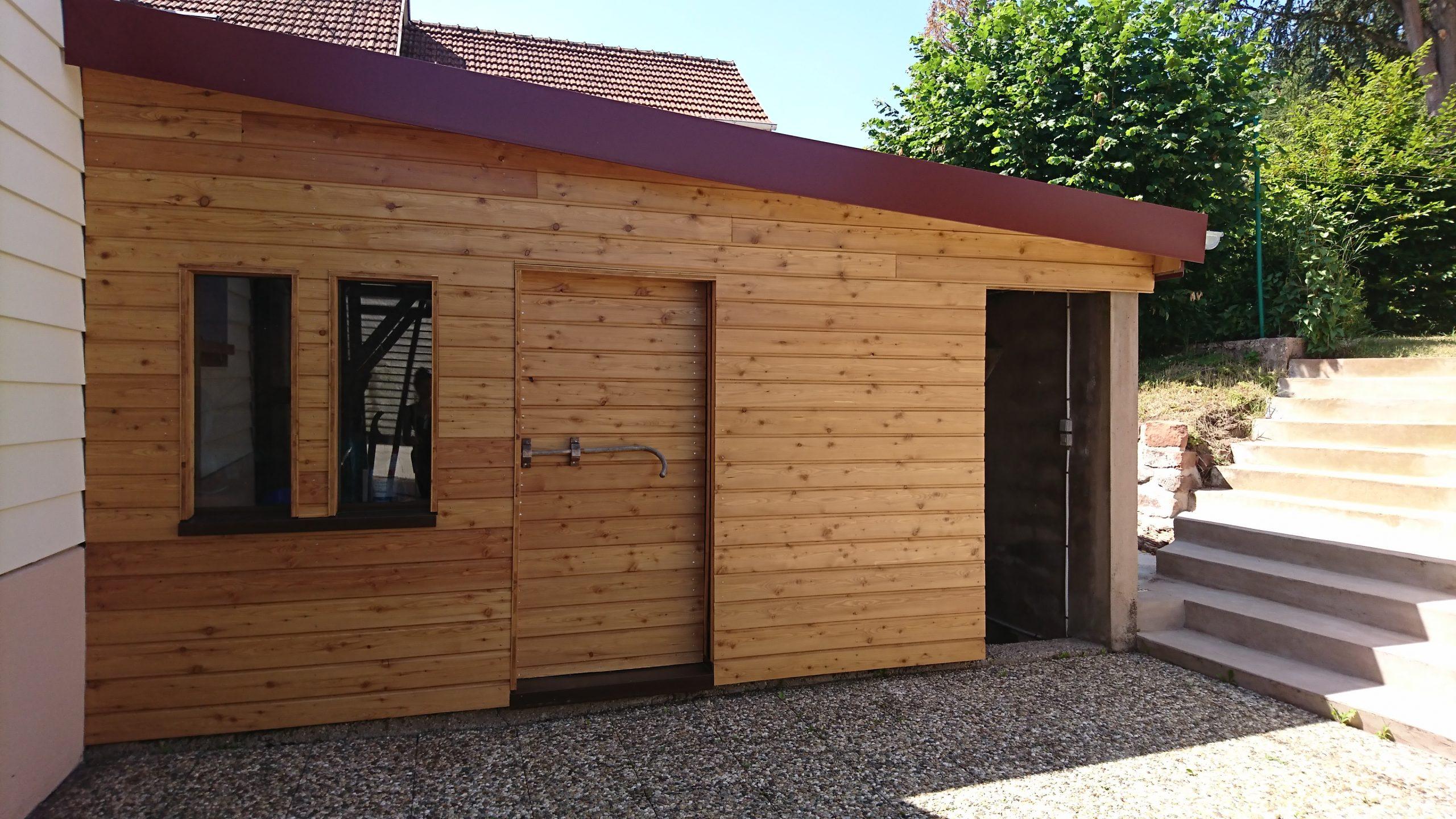 Rénovation d'une annexe en bois