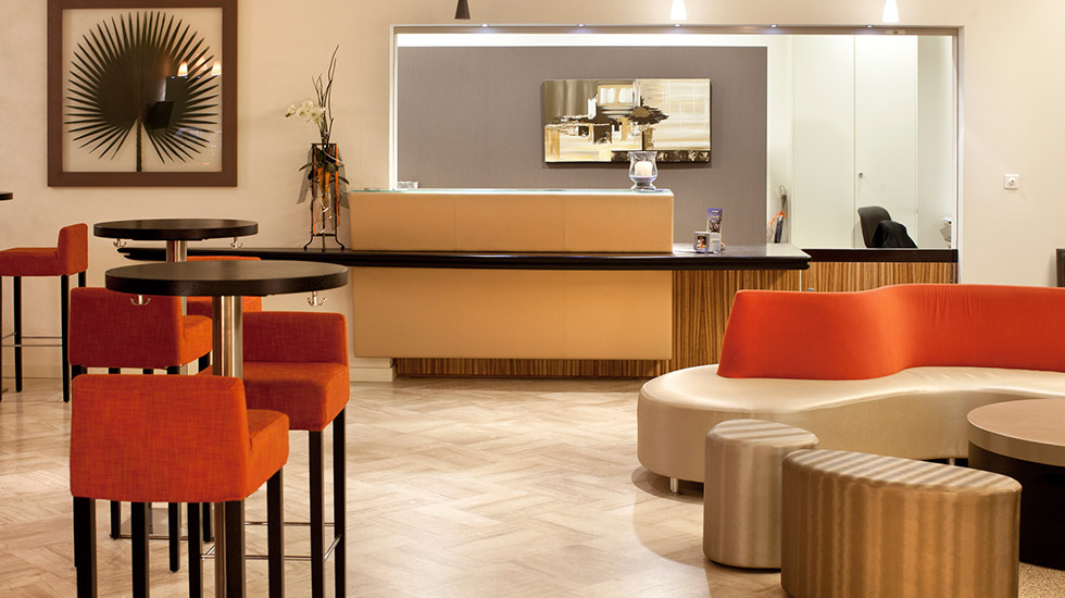 wellness & spa hotel muller - réception