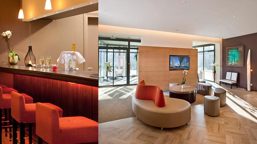 wellness & spa hotel muller - bar / hall