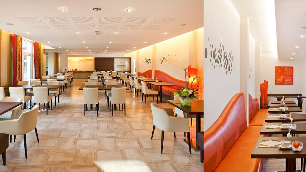 wellness & spa hotel muller - salle petit déjeuner